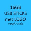 16GB USB STICKS MET LOGO
