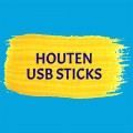 Hout usb sticks
