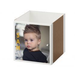 Ikea kallax inzet met deur bedrukken eigen foto, logo of tekst