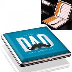 Bedrukte sigarettenkoker vaderdag cadeau model 1041