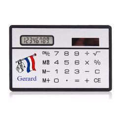 Creditcard rekenmachine bedrukken