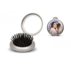 Opvouwbare haarborstel met eigen foto