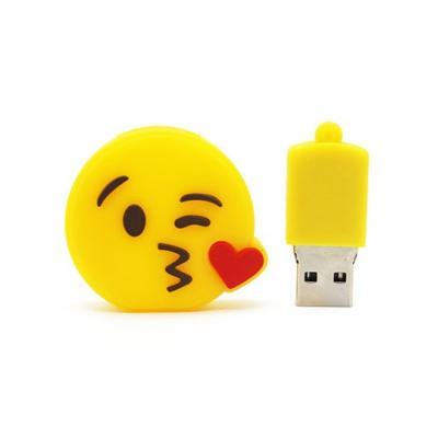 Emoji hart usb stick
