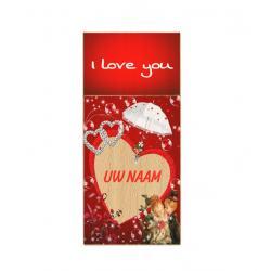 Valentijnsdag cadeau usb stick met naam 8gb - model 1004