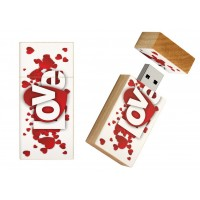 Love cadeau usb stick 8gb - model 1016