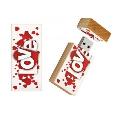 Love cadeau usb stick 8gb - model 1016
