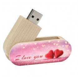 I love you cadeau twister usb stick 8gb - model 1020