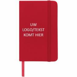Spectrum A6 notitieboek (rood) met logo, vanaf 25 stuks bedrukken