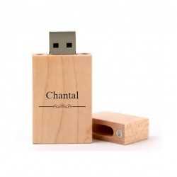 Chantal cadeau usb stick 8GB