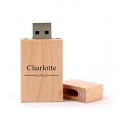 Charlotte cadeau usb stick 8GB