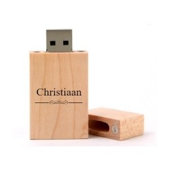 Christiaan cadeau usb stick 8GB