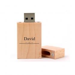 David cadeau usb stick 8GB