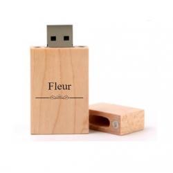 Fleur cadeau usb stick 8GB