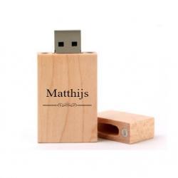 Matthijs cadeau usb stick 8GB