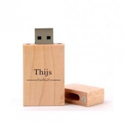 Thijs cadeau usb stick 8GB