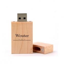 Wouter cadeau usb stick 8GB
