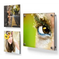 Plexiglas met foto 30 X 30 cm