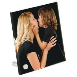 Plexiglas met foto vierkant staand model 297 x 297 x 5mm