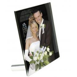 Plexiglas met foto bureau staand model 100mm X 150mm X 5mm