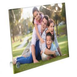 Plexiglas met foto liggend bureau model 300 x 200 x 5mm