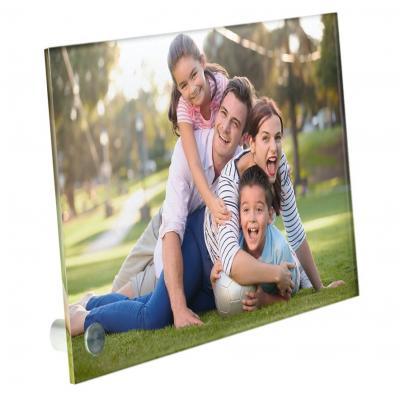 Plexiglas met foto staand model