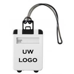 Bagagelabel met logo, vanaf 50 stuks bedrukken