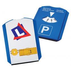 5 in 1 parkeerschijf met logo, vanaf 10 stuks full colour bedrukken
