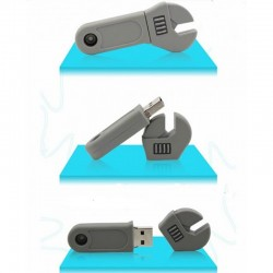 Moersleutel usb stick. 4gb