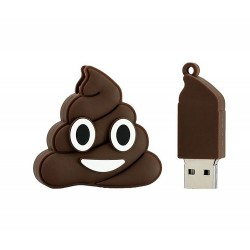 Emoji poop usb stick 8GB