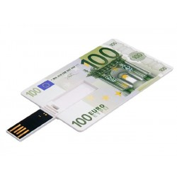 100 Euro creditcard USB stick 8GB
