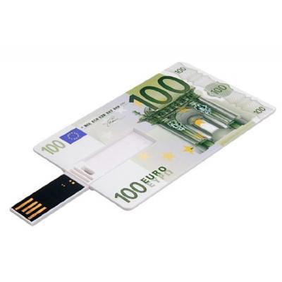 100 Euro creditcard USB stick