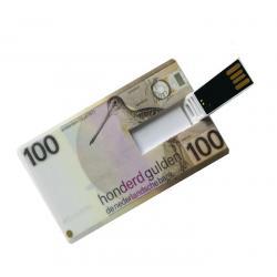 100 Gulden creditcard USB stick 8GB