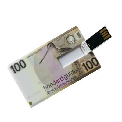 100 Gulden creditcard USB stick