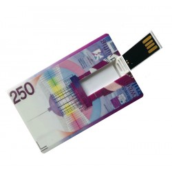 250 Gulden creditcard USB stick 8GB