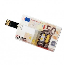 50 Euro creditcard USB stick 8GB