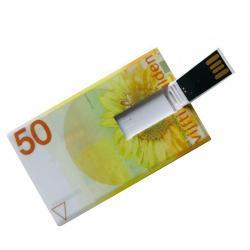 50 Gulden creditcard USB stick 8GB