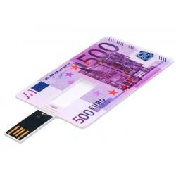 500 Euro creditcard USB stick 8GB