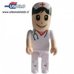 3.0 verpleegster usb stick 128gb