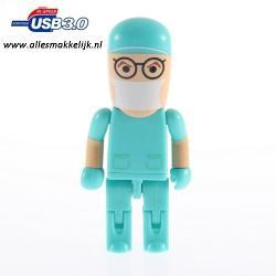 3.0 Chirurg dokter usb stick 128gb