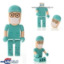 3.0 Chirurg dokter usb stick 16gb