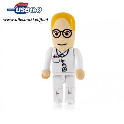 3.0 Dokter usb stick 128gb