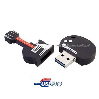 128gb gitaar usb stick