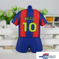 3.0 Messi Barcelona voetbal usb stick 16gb