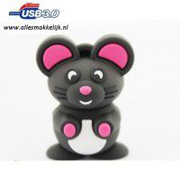 3.0 Muis usb stick. 128gb