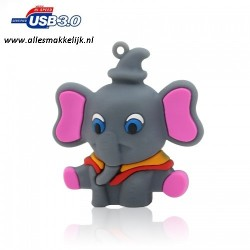 3.0 Olifant usb stick 128gb