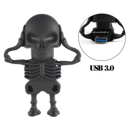 3.0 Skelet usb stick. 128gb