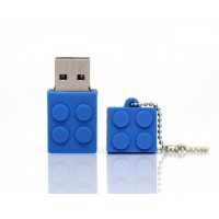 3.0 lego blauw usb stick 128gb