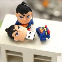 Superman poppetje usb stick. 32gb