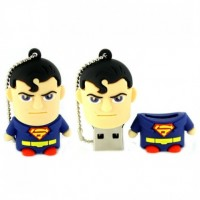 Superman poppetje usb stick. 4gb