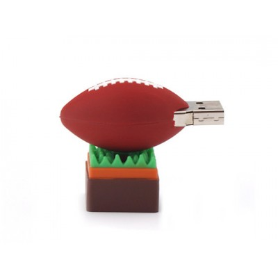 American football rugbybal usb stick 8gb